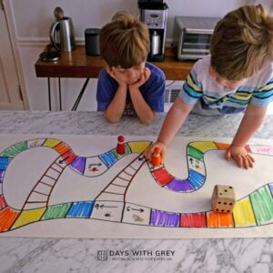 Rainbow DIY Board Game