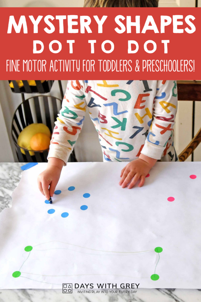 fine motor shape activity