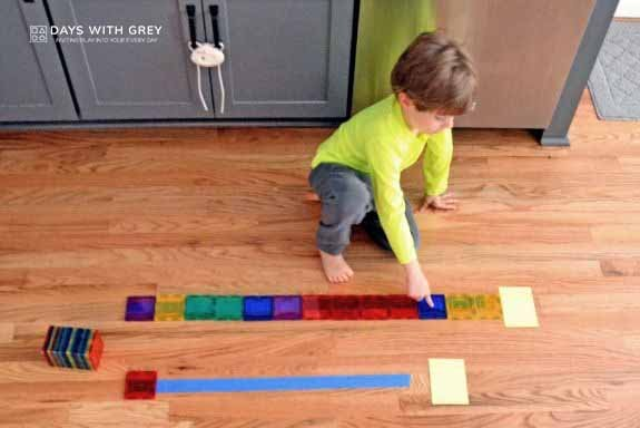 hands-on preschool math