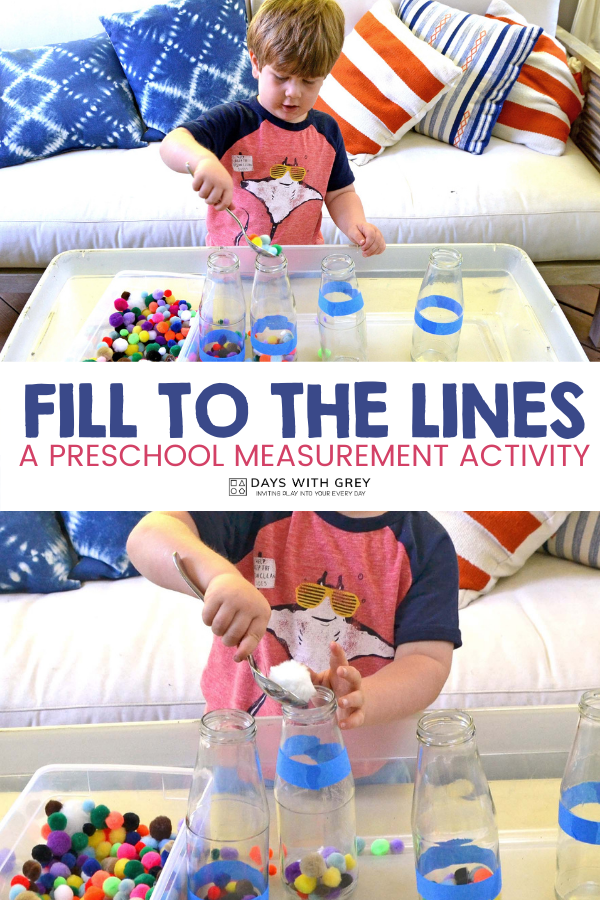 preschool nonstandard measurement