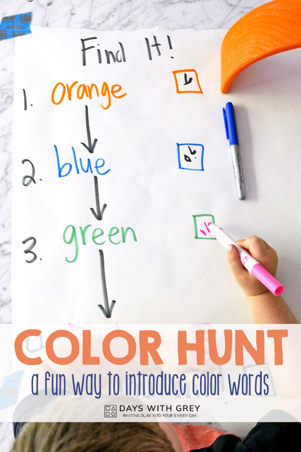 color words movement game