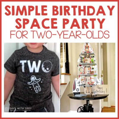 two year old birthday theme