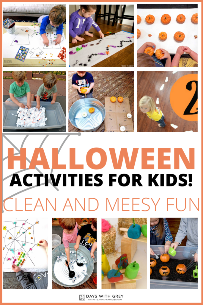 Halloween Activities For Preschoolers Days With Grey