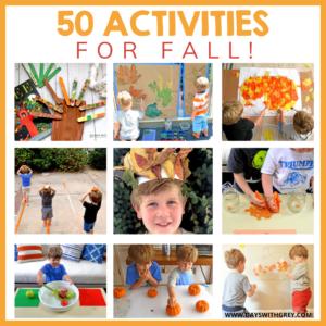50 Fall Activities for Preschoolers