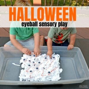 Halloween Sensory Play Your Preschooler Needs to Try!