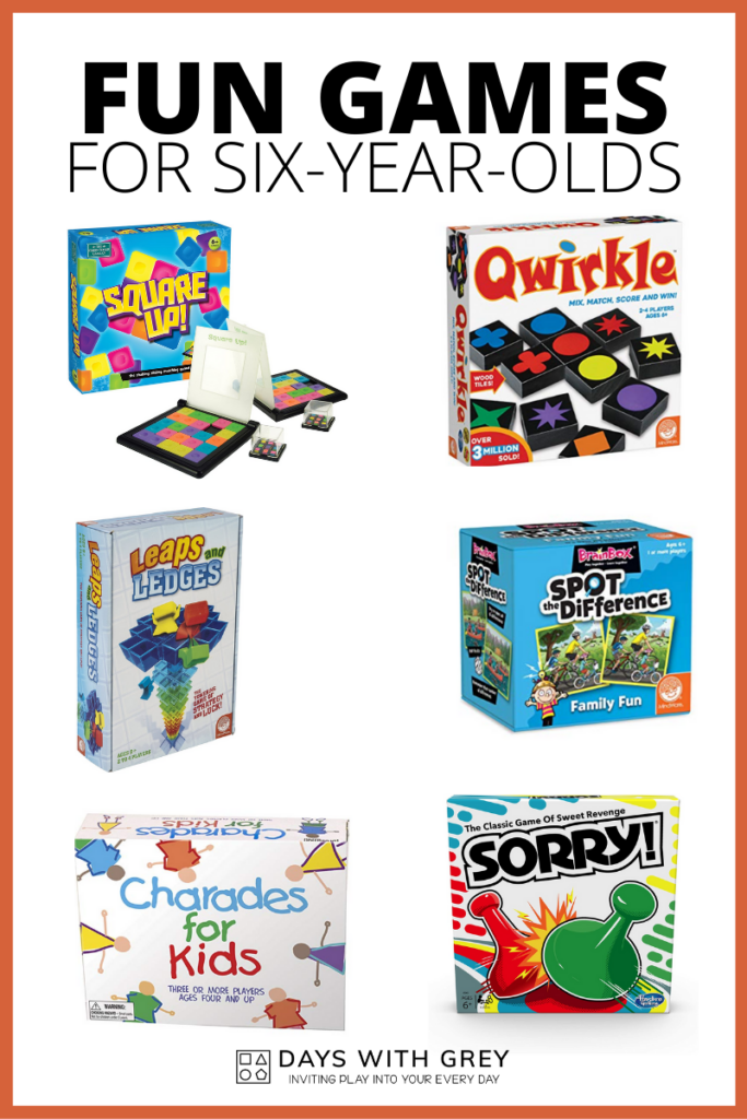 games for six-year-olds
