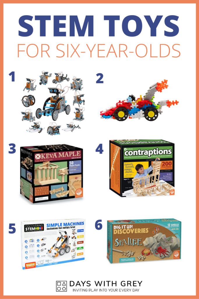 stem toys for six-year-olds