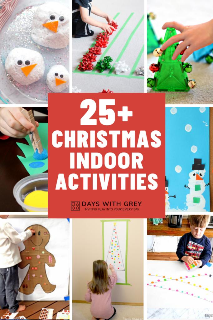 25+ Christmas Indoor activities