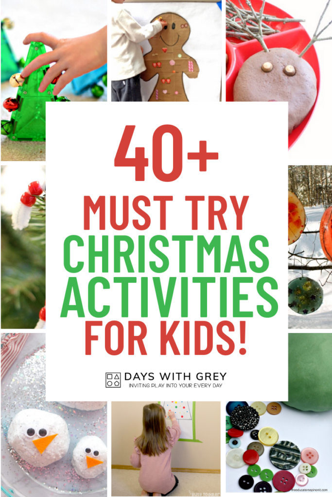40+ Christmas Activities for Kids
