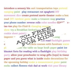 70+ Free Activities for Kids