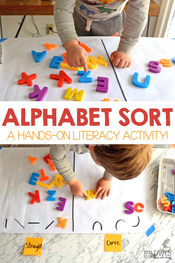 hands-on literacy activity