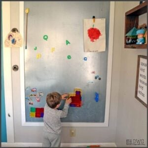 DIY Magnet Wall