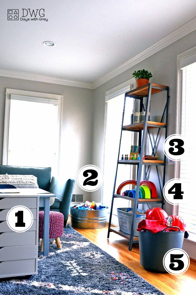 Playroom organization ideas for girls and boys, playroom ideas on a budget, playroom storage ideas for kids, easy ideas for toy storage #playroom #toystorage #playroomideas #play #kids #storageidea (3).jpg