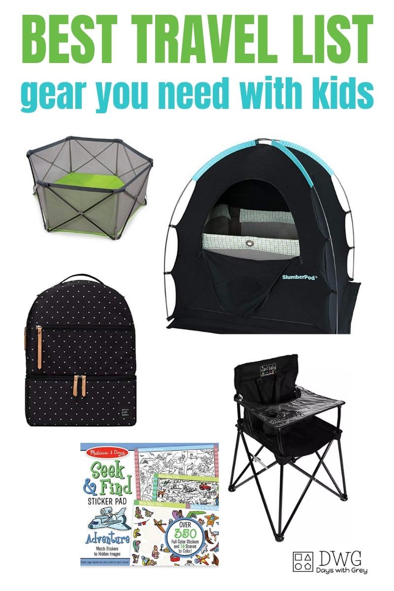 Travel gear kids, family travel with kids, best travel gear for kids, two-years-old, three-years-old, four-years-old #familytravel #travelgear #kids #sahm #preschooler #toys #travelguide.jpg