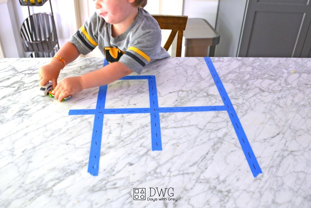 A Low Prep Toddler Activity