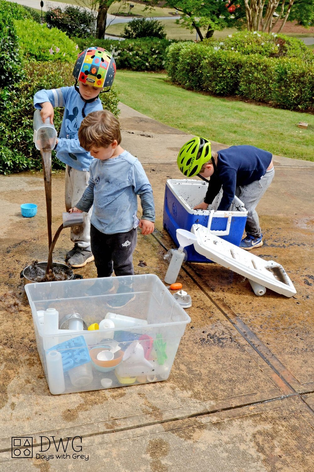 Muddy Water Messy Play