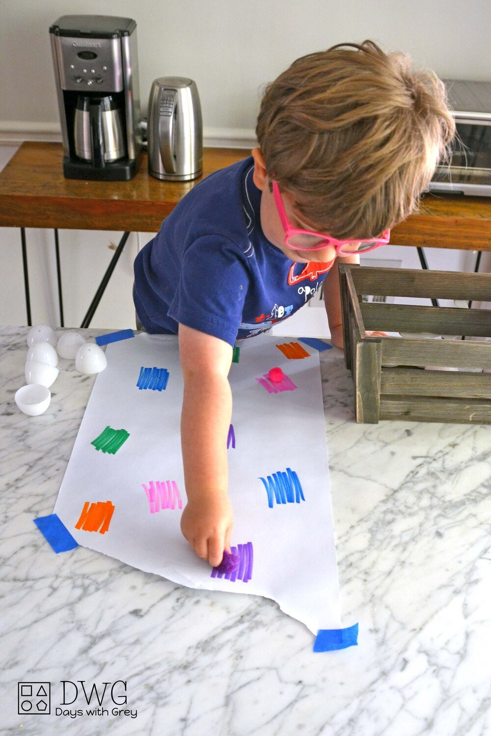 Easy Toddler Easter Activity