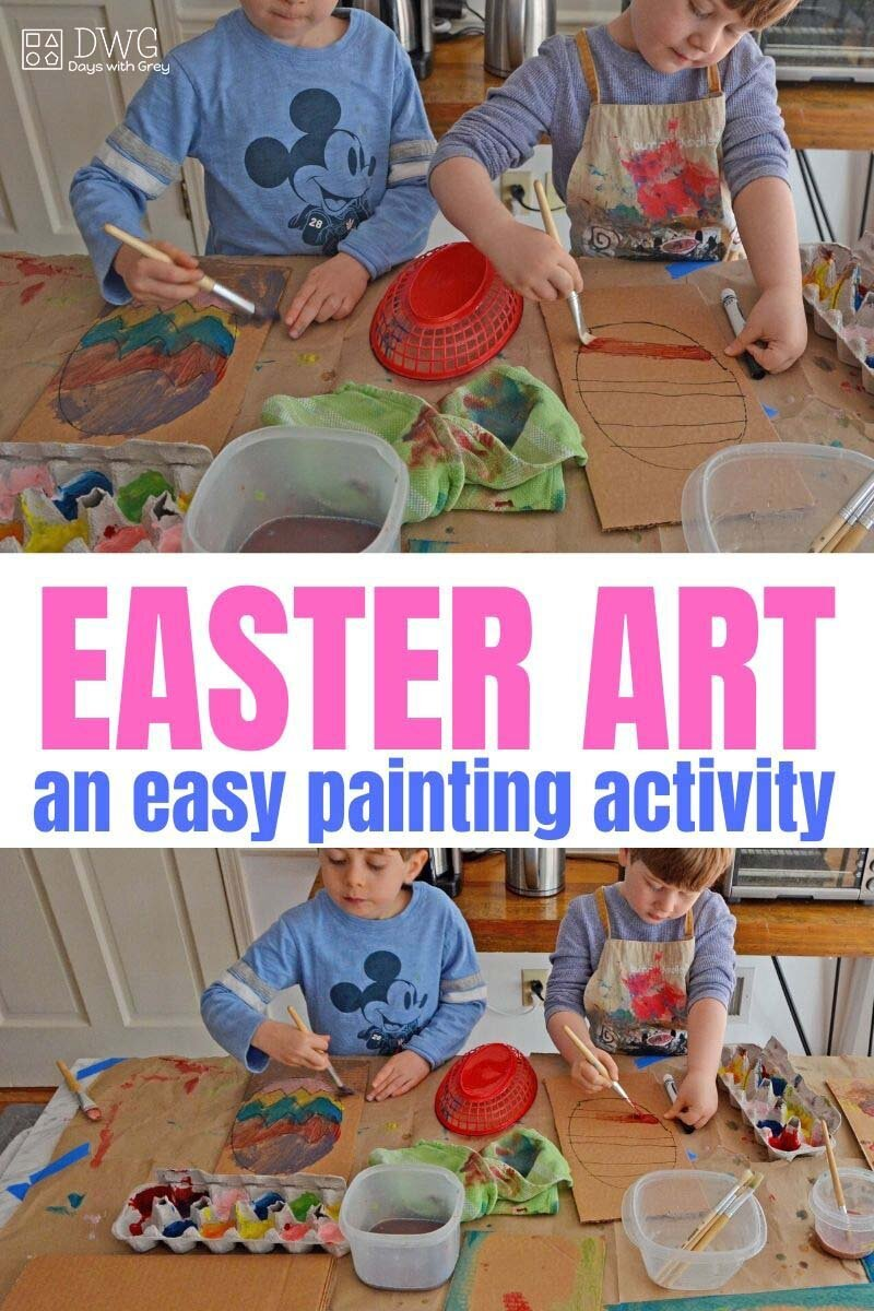 Easter Art Project for Kids