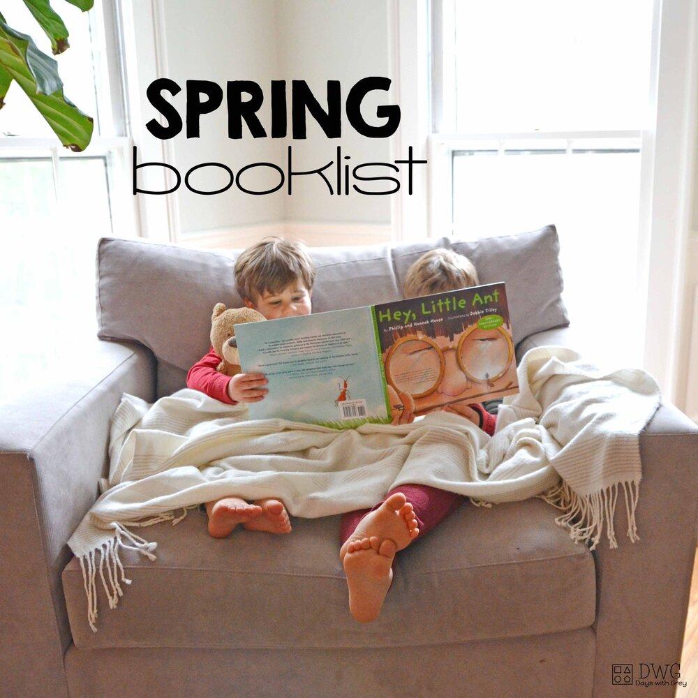 Spring Booklist -