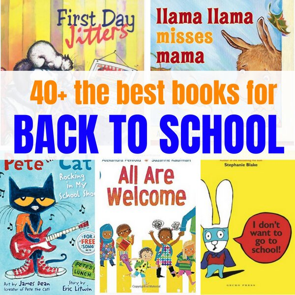 Books for Back to School - The best book list!