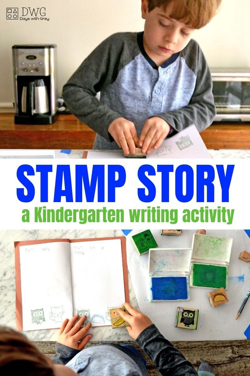 Kindergarten writing activity