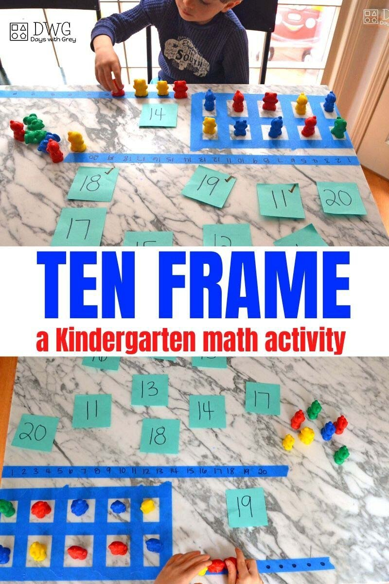 what is a ten frame?