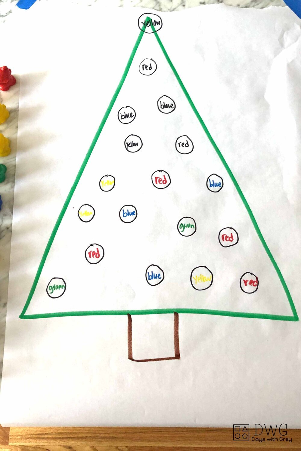 Christmas activity for preschool