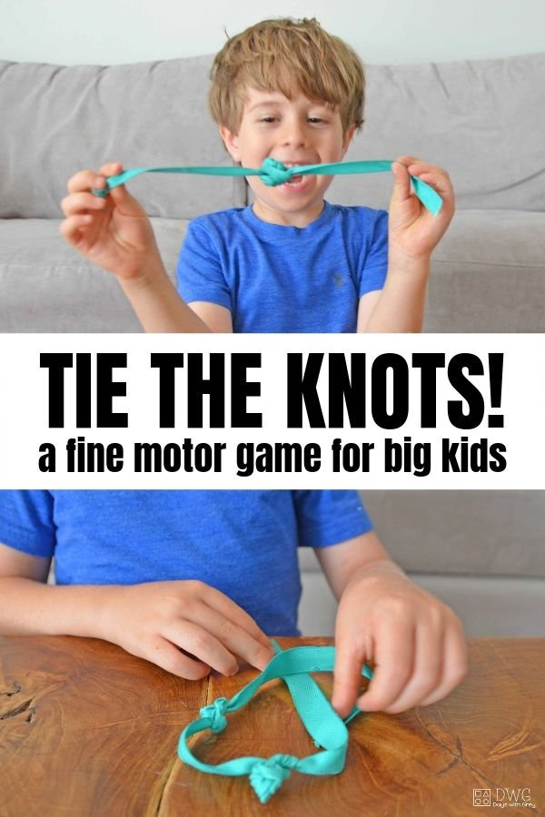 fine motor for five year olds