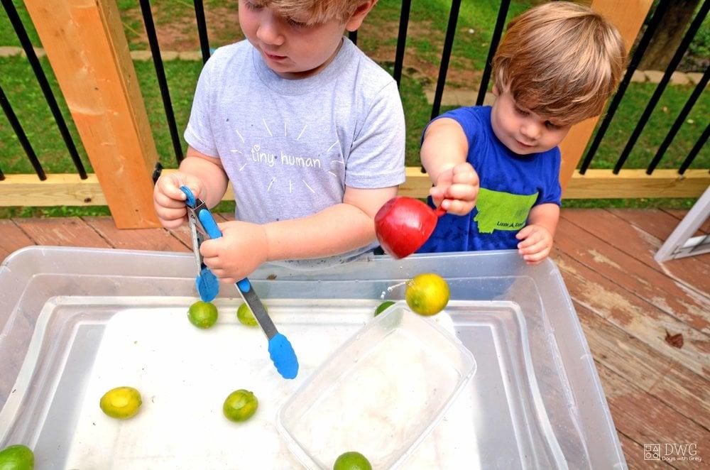 toddler water play
