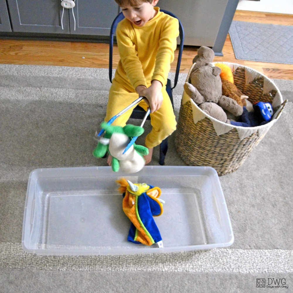 large motor activity for preschool