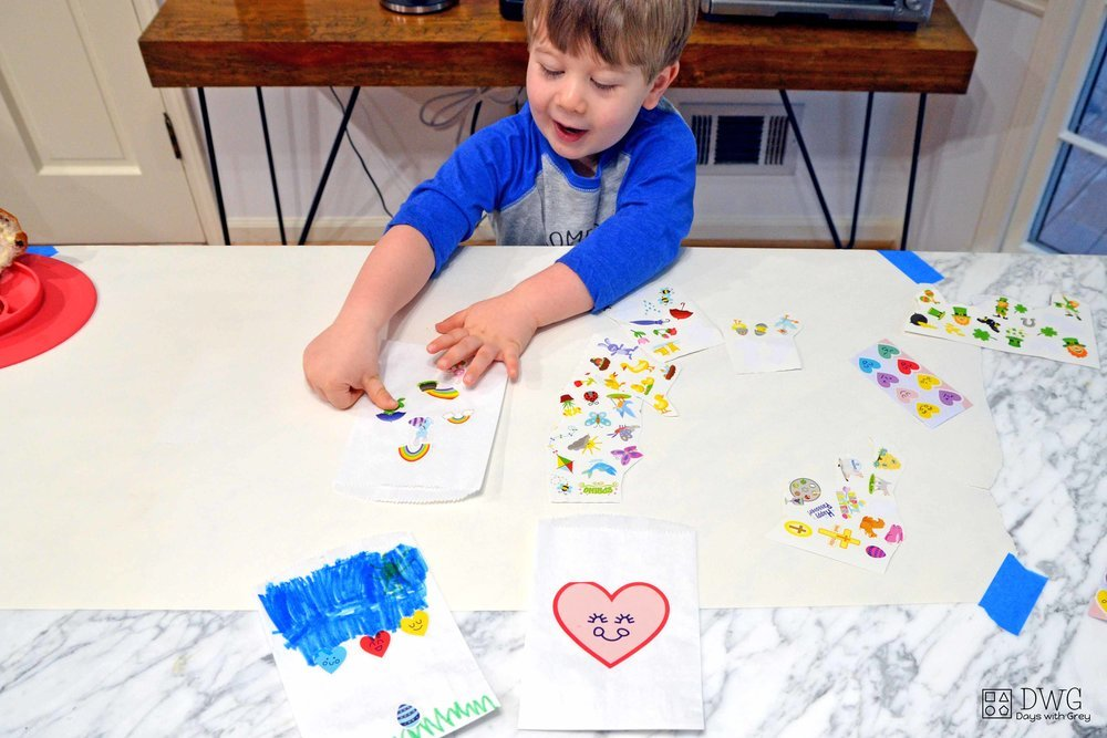 spring sticker activity
