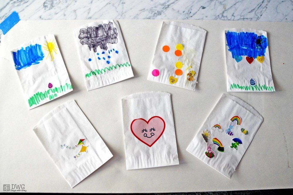 spring snack bags