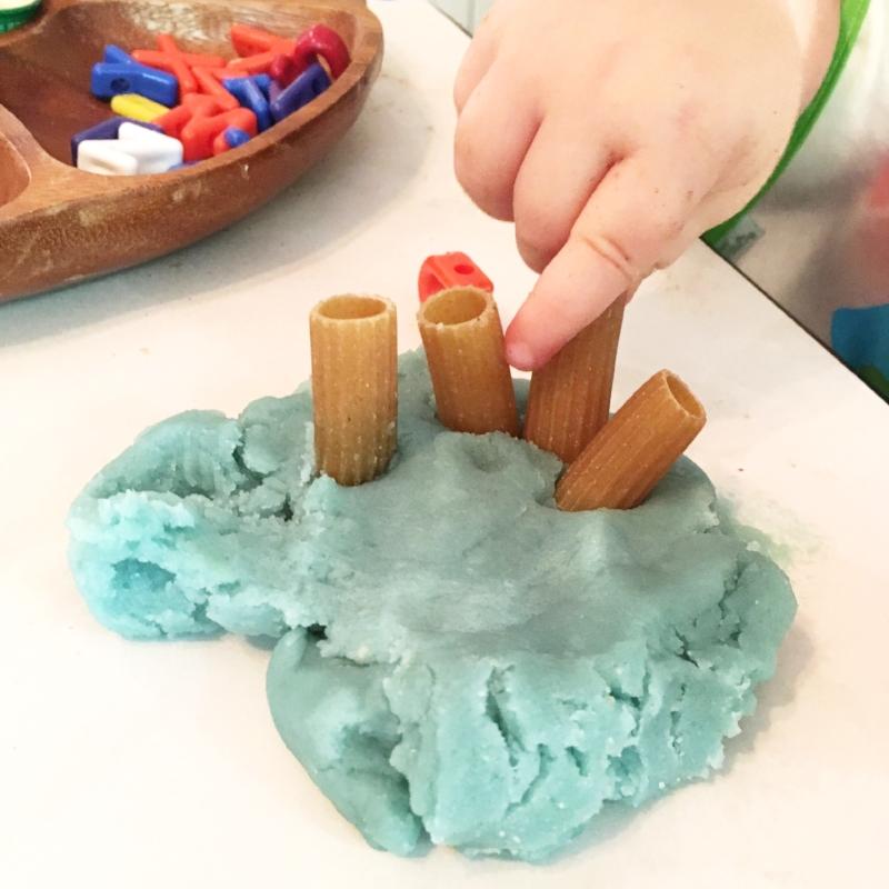 preschool play-doh