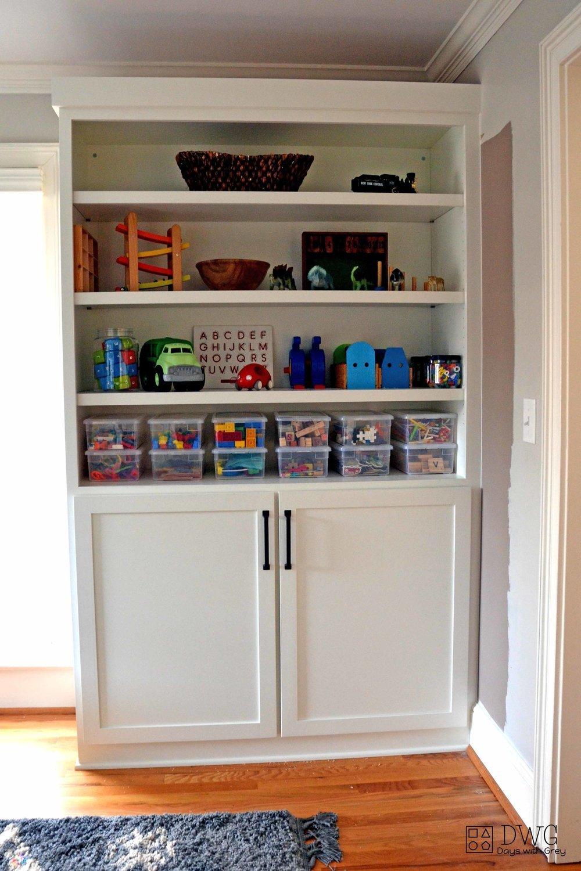 playroom ideas and storage