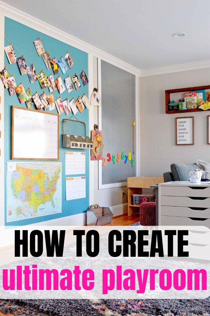 playroom organization ideas for girls and boys, playroom ideas on a budget, playroom storage ideas for kids, easy ideas for toy storage #playroom #toystorage #playroomideas #play #kids #storageidea