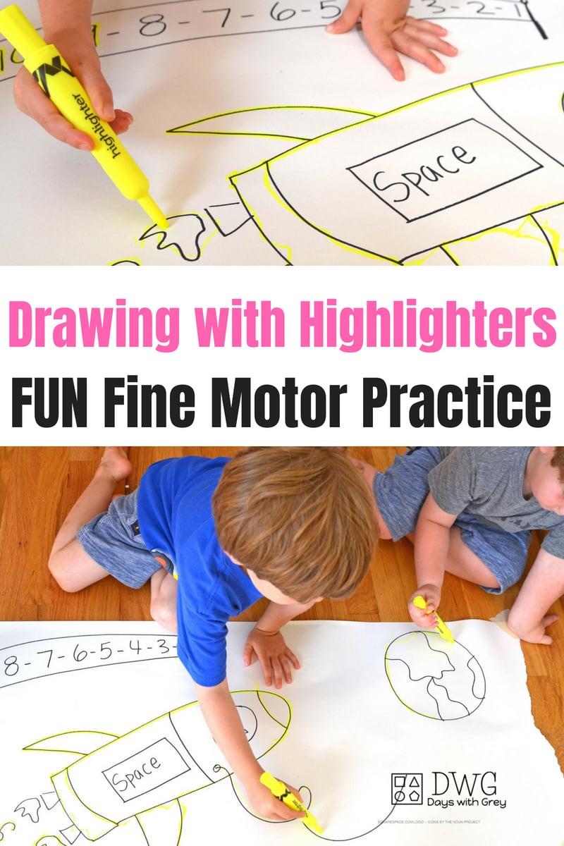 fine motor activity for kids