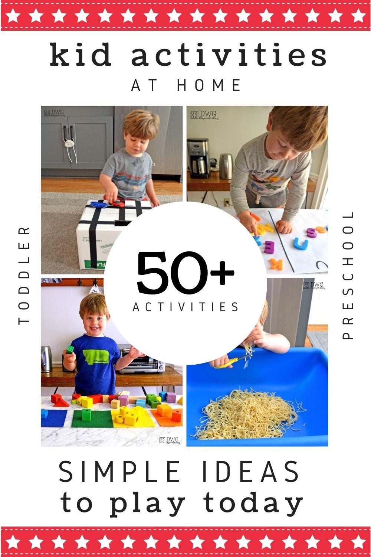 kid activities at home