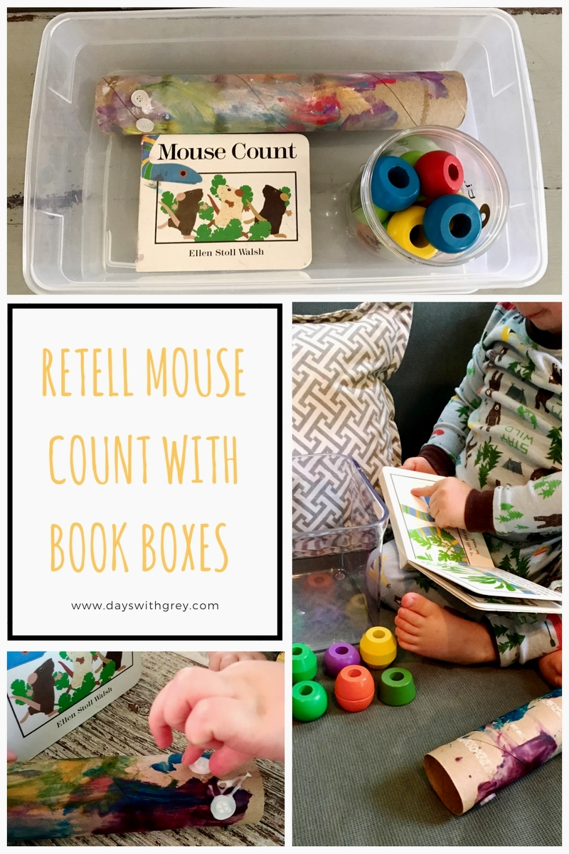 Preschool book retell