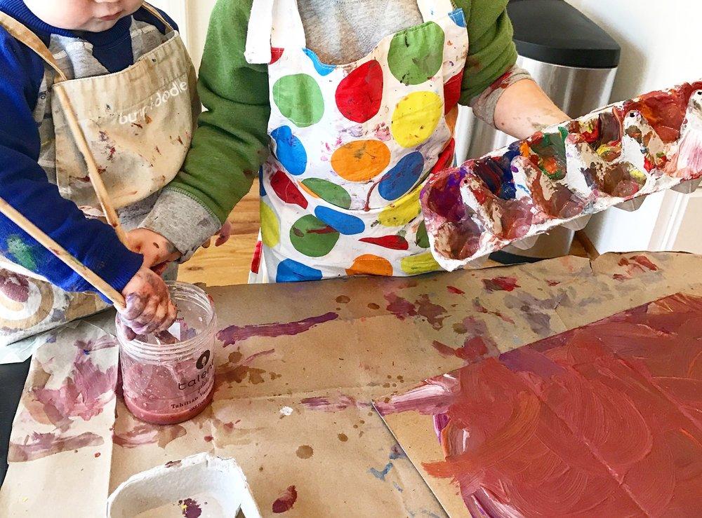 Preschool Art Provocation