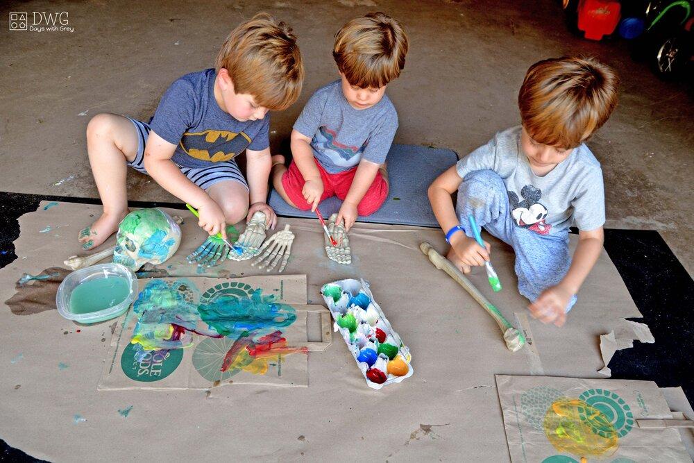 A Halloween Activity for Preschoolers