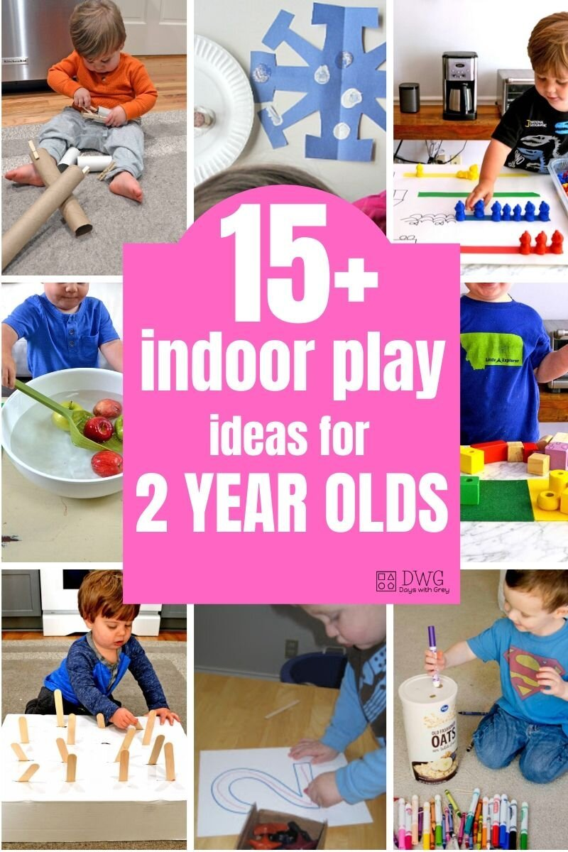 top activities for two year olds