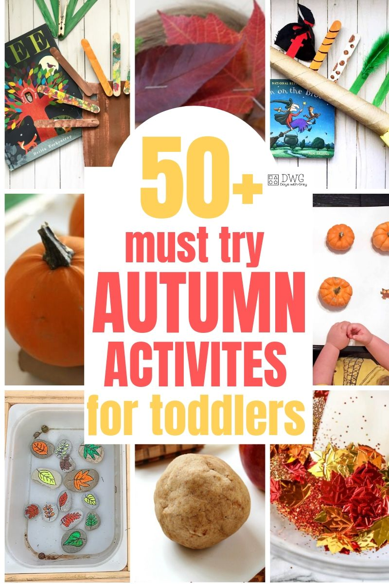 50+ Autumn Activities for Toddlers