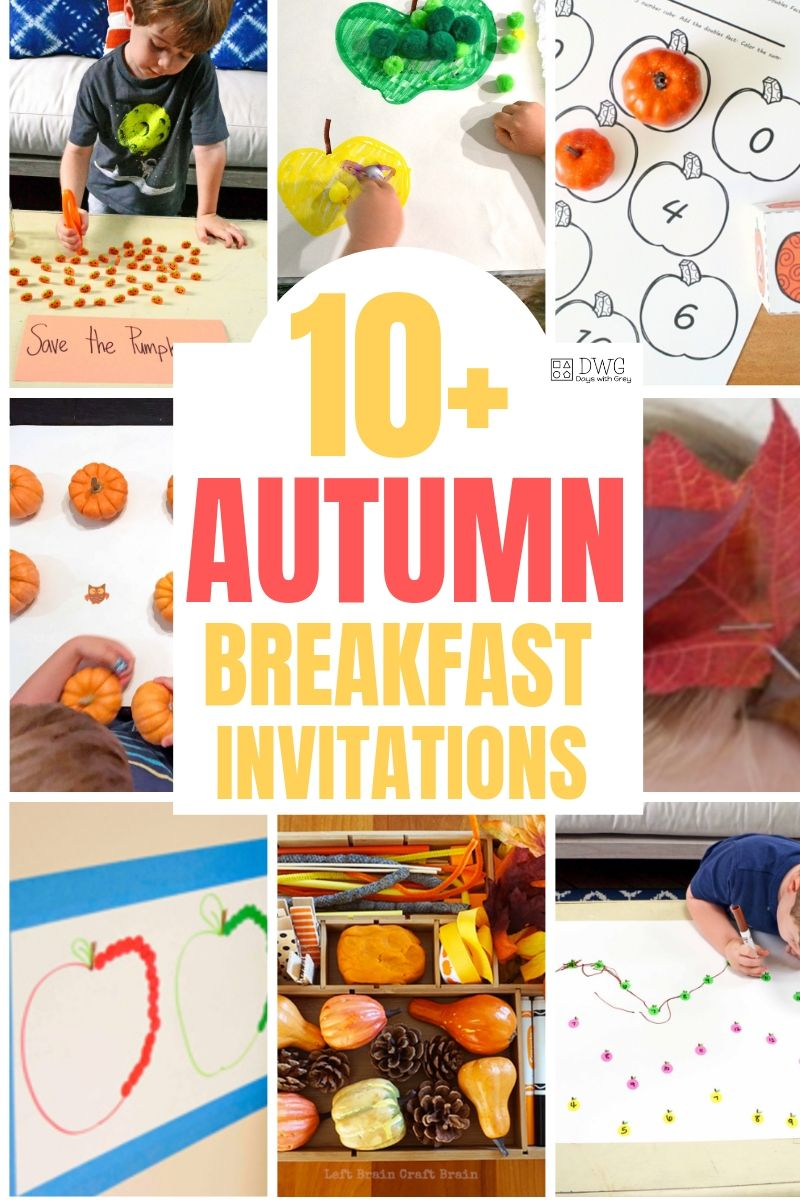 autumn activities for toddlers
