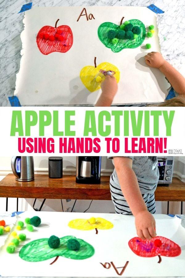 apple preschool activity
