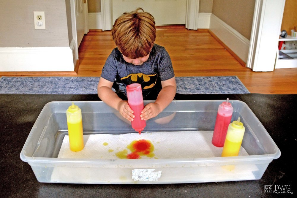 sensory table ideas