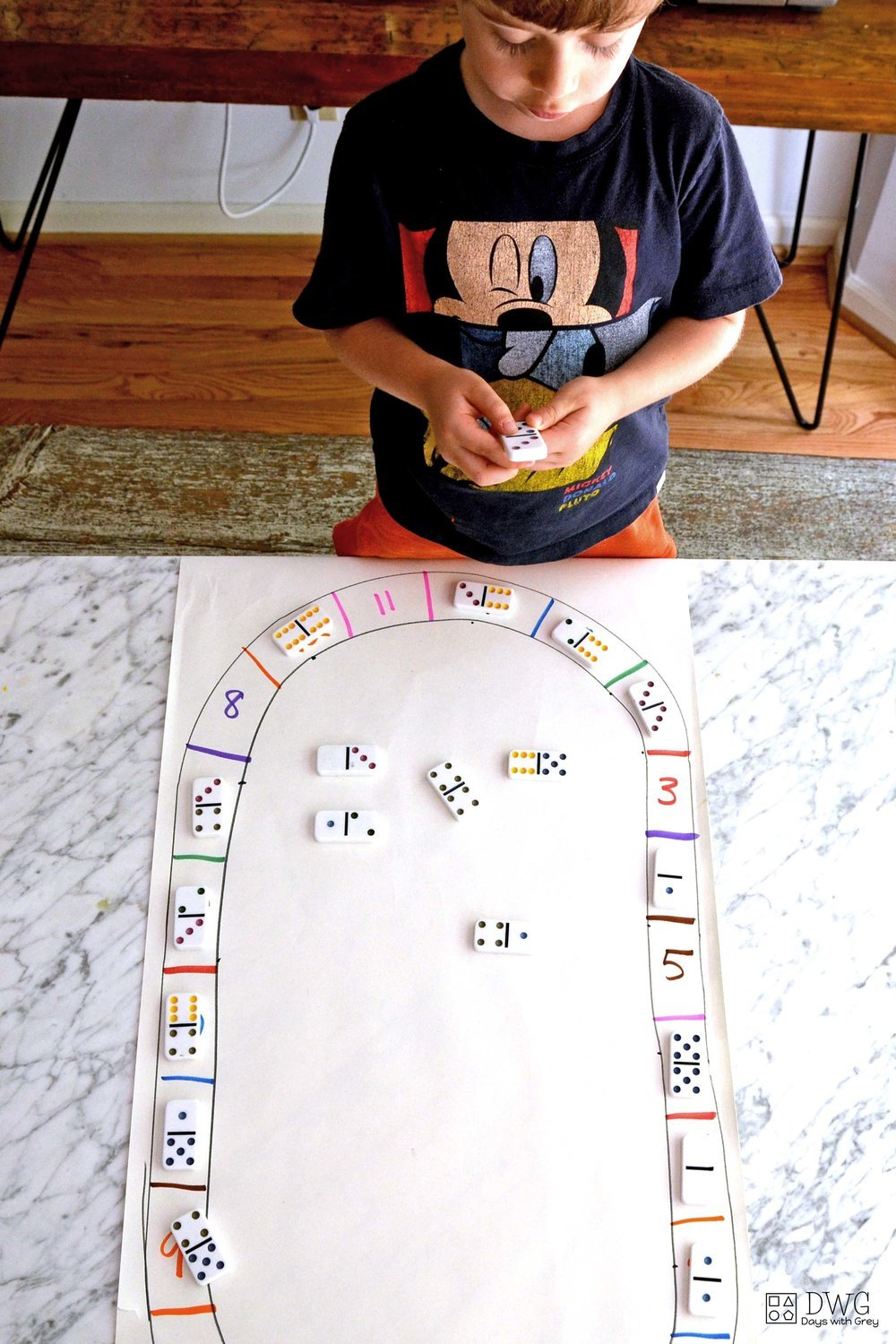 number game for kindergarten