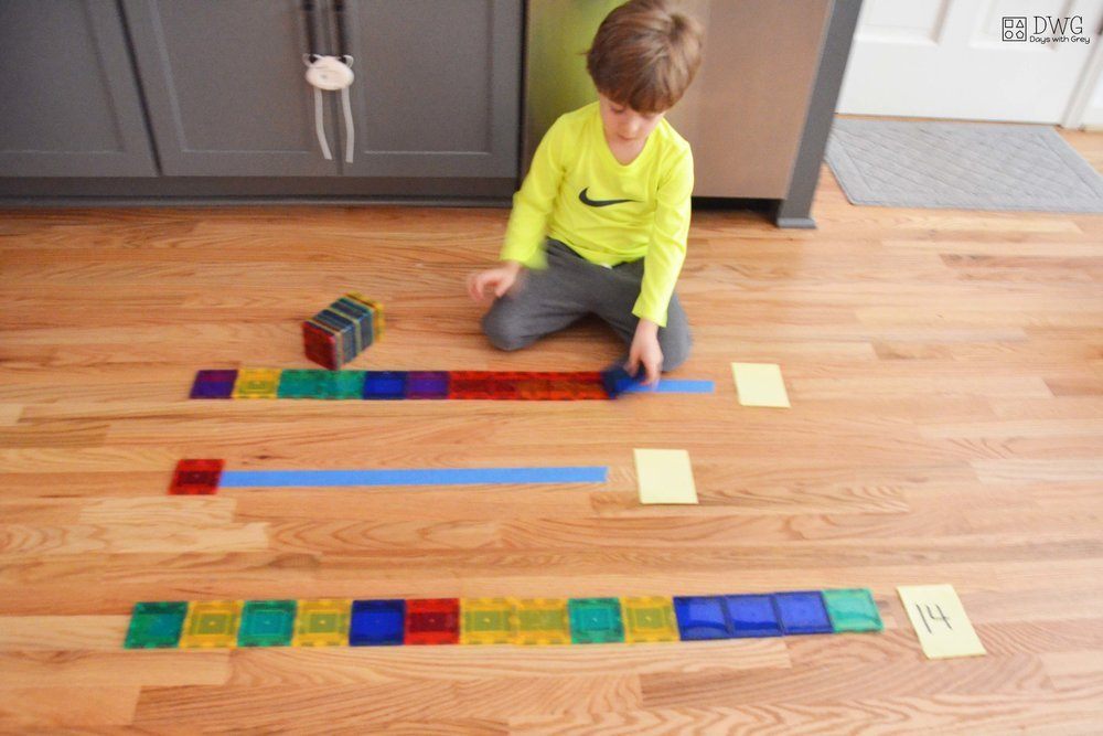 hands-on math activity for preschool