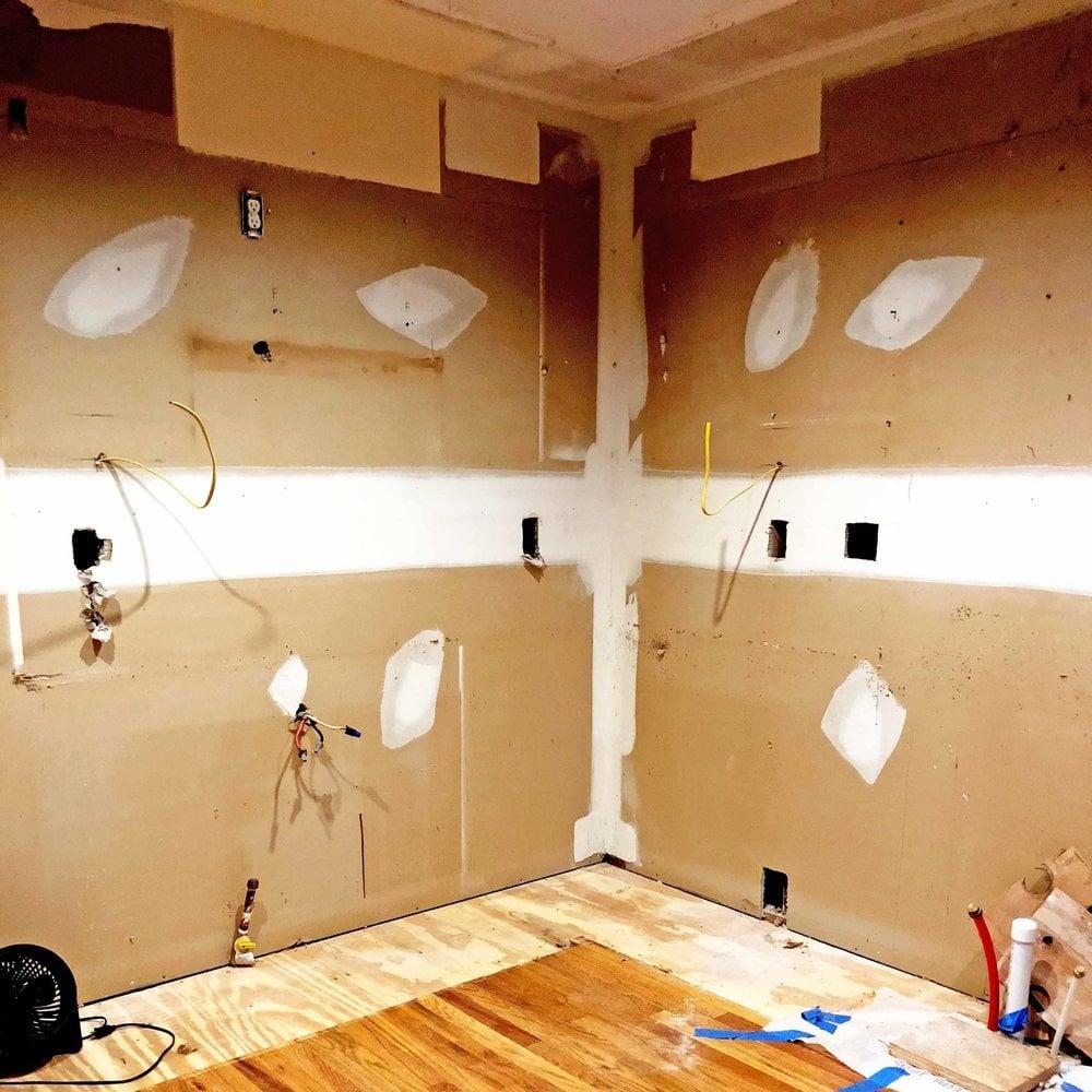 kitchen renovation with kids