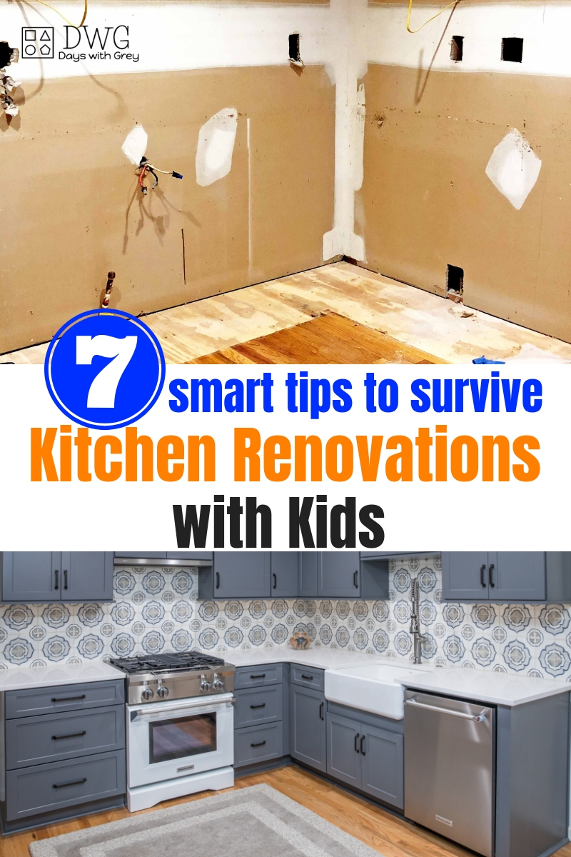 Home renovations with kids. The best tips for home renovations before and after, kitchen renovations, and interior renovations with kids #kitchenremodel #kitchen #homerenovation #interiorrenovation #momlife
