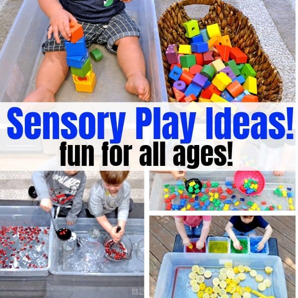 how to sensory play